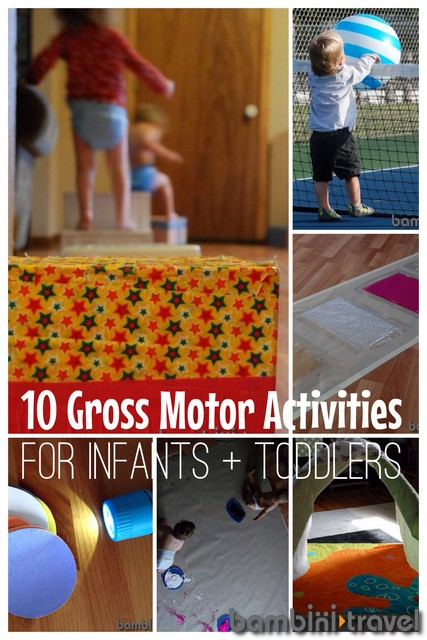 Gross Motor Crafts For Toddlers