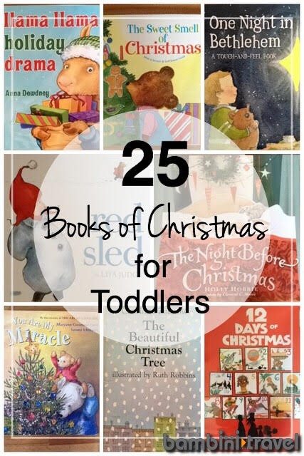 25 Books of Christmas for Toddlers   Bambini Travel
