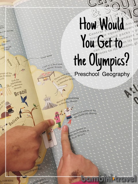 Olympic Preschool Geography lesson