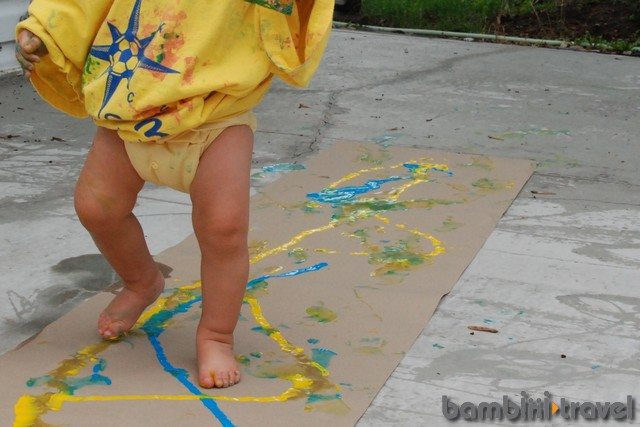 Walking Paint
